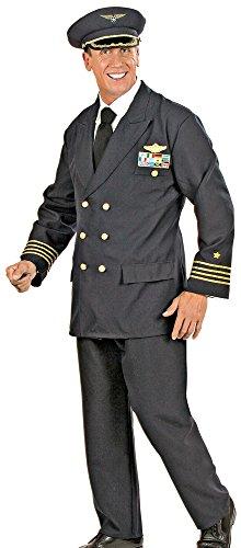 Piloten Kostüm für Herren Gr. XL 56