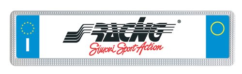 Preisvergleich Produktbild Simoni Racing PTX/3W Kennzeichenhalter Universal hinten, Weiß