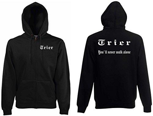 world-of-shirt Herren Kapuzenjacke Trier Ultras