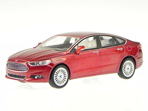 ford-fusion-mondeo-2013-rubin-rot-modellauto-86035-greenlight-143