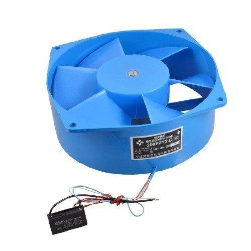 Ventilador de 220 V 65 W alas azules de metal motor eléctrico...
