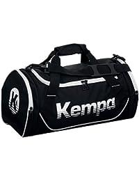 Kempa–Bolso de balonmano con texto impreso Nombre, negro