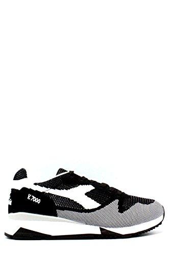 Diadora Men\'s V7000 Weave Men\'s Trainers In Black-White In Size 45 Black
