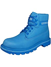 8de924050bed Caterpillar Cat Shoes Footwear Damen Stiefel Boots Colorado Brights Boca  Hellblau blau 36 37 38 39