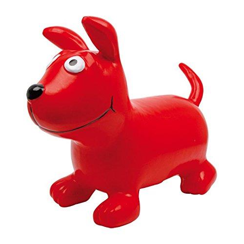 """Hüpfhund """"Bodo"""" aus strapazierfähigem, leichten Kunststoff, das Hüpftier fördert den Gleichgewichtssinn, ein süßes Hündchen für Kinder ab 3 Jahren"""