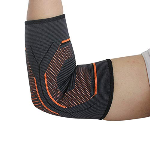 Langlebige flexible Sportschutzausrüstung Ellenbogen-Bandage für Frauen & Männer, Gelenk-Bandage mit Kompressionsgestrick zur Durchblutungsförderung für Tendonitis, Arthritis, Tennisarm, Golf, Fitness -