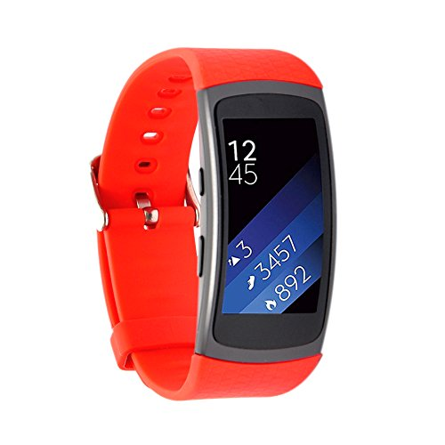 silicone-strap-for-samsung-gear-fit2-wrist-replacement-band-smart-watch-fitness-strap-accessory-red