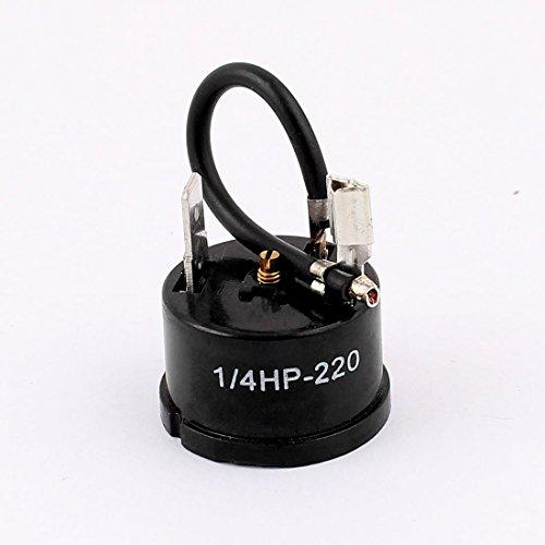 sourcingmap® 1/4HP-220 Frigorifero Frigorifero compressore termico cablata dispositivo protezione contro sovraccarico