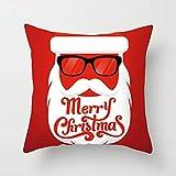 Cuscino natalizio Europa e America Albero di Natale stampa digitale divano oro cuscino cuscino cuscino federa come mostrato nell'immagine 45 * 45 (senza cuscino)