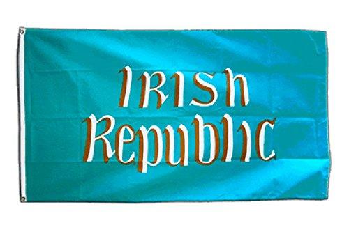Fahne / Flagge Irland Irish Republic Osteraufstand 1916 + gratis Sticker, Flaggenfritze®