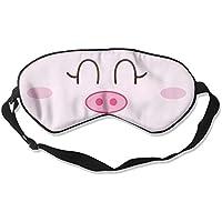 Cute Pink Pig 99% Eyeshade Blinders Sleeping Eye Patch Eye Mask Blindfold For Travel Insomnia Meditation preisvergleich bei billige-tabletten.eu
