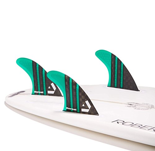 Surfboard Fins Carbon Hexcore Thruster Set (3)