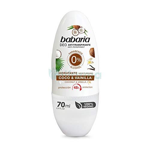 Babaria Desodorante Babaria Desod.Roll-On 70 mililitros.Coco&Vainilla