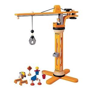 Plan Toys Crane Set, Colore Legno, 6086