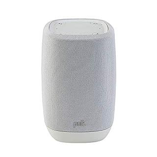 Polk Audio ASSISTUKGY Smart Speaker with Google Assistant Built-In - Cool Grey