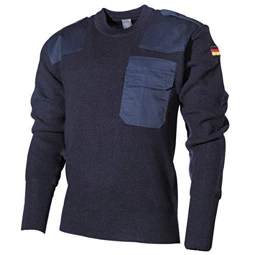 MFH Schwerer Bundeswehr Pullover mit Brusttasche (Blau/54)