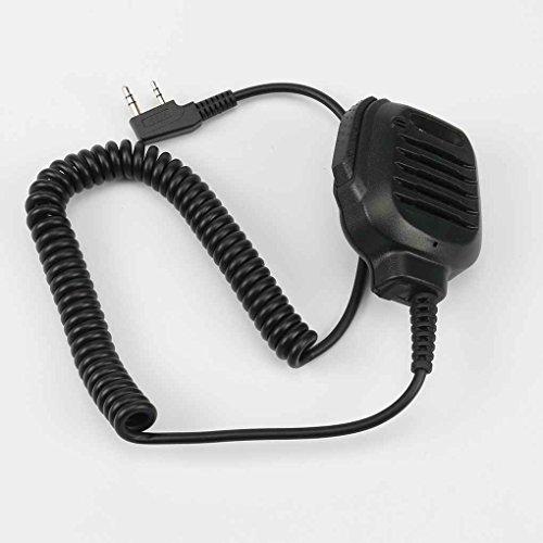 Providethebest Intercom Mic Lautsprecher Fernbedienung Mikrofon für Kenwood Two Way Radio TK2402 TK3402 TK3312 TK2312 NX220 NX320 NX240 Intercom Mic
