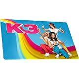 Studio100 MEK3N0000720 Placemat K3 Blauw, 36-120 mnd