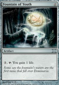 Magic: the Gathering - Fountain of Youth (323/383) - Tenth Edition by Magic: the Gathering