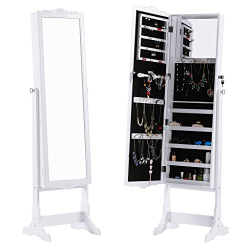 langria-free-standing-lockable-full-length-mirrored-jewellery-cabinet-armoire-for-rings-earrings-bra