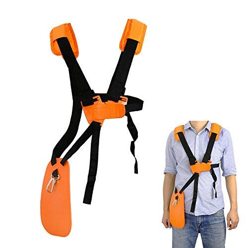 YOUSHARES tondeuse à bandoulière-tondeuse à harnais double épaule avec ceinture de nylon durable Adjuestable pour débroussailleuse ou Gardenning (pour STIHL FS, taille-bordures série km)