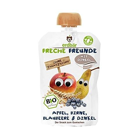 "erdbär Freche Freunde ""Apfel, Birne, Blaubeere & Dinkel"
