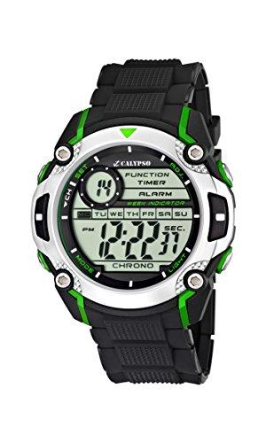 g shock kinder Calypso watches Jungen-Armbanduhr Digital Kautschuk K5577/3