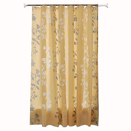 Zg tenda della doccia del modello del fiore dell'annata per il bagno retro tenda floreale rustica della tenda di tema anti muffa resistente all'acqua peva decor tenda