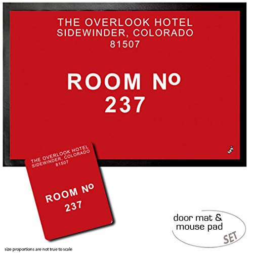 1art1 El Resplandor, Overlook, Habitación 237 Felpudo