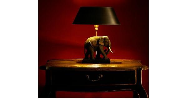 Nachttischlampe Elefant Jip Tischlampe Kinderzimmer Elefant Blau