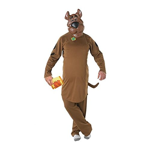cooby-Doo, Erwachsene Kostüm–Standard Größe (Scooby Doo Kostüme Amazon)