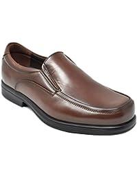Tolino 7992 - Marrón - Ancho Especial - Zapato sin Cordones Hombre