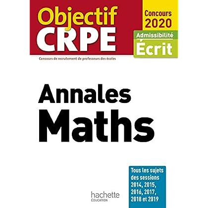Annales maths : Admissibilité écrit