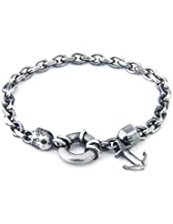 Anchor & Crew Sterling Silber Armband Salcombe 21cm