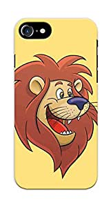 Kaira High Quality Printed Designer Back Case Cover For APPLE IPHONE 7 / Iphone 7S(Lion)