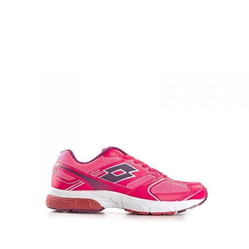 Lotto Zenith Viii W, Chaussures de Running Entrainement Femme Rose - Rosa (Crl Div / Peony)