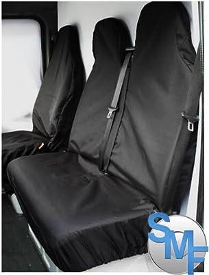 Vollkswagen VW Crafter CR35 EXTRA HEAVY DUTY Waterproof Van Seat Covers / Protectors - BLACK by Shipley Motor Factors
