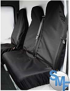 Vauxhall Vivaro LWB Sportive Heavy duty van seat covers - BLACK