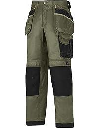 Snickers Workwear Arbeit–pantoloni, grün, 32123204248