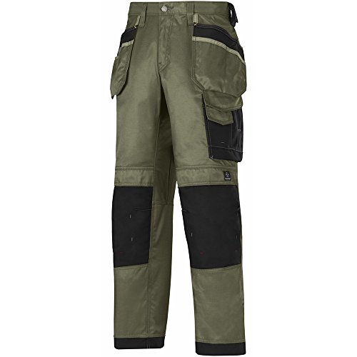 Snickers DuraTwill Hose, Olive Gr. 154