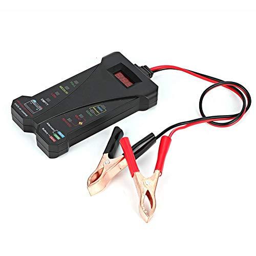 Qii lu Rilevatore batteria , Rilevatore batteria auto Display digitale 12V LED Strumento diagnostico analizzatore tester batt