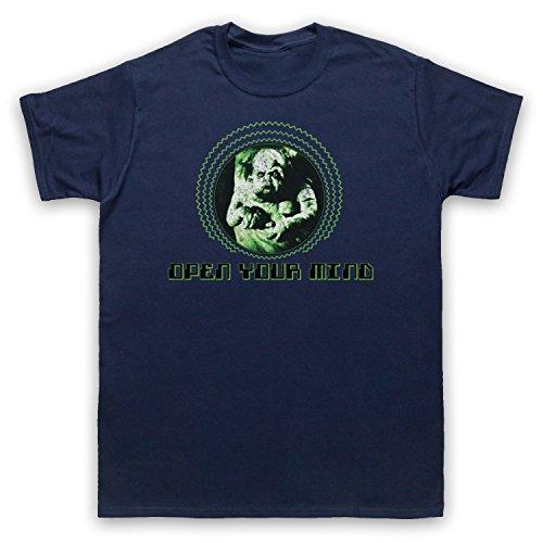 Inspiriert durch Total Recall Open Your Mind Unofficial Herren T-Shirt Ultramarinblau