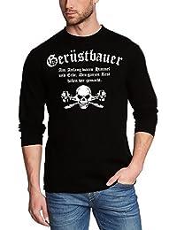 GERÜSTBAUER T-Shirt oder Kapuzensweatshirt, schwarz Gr.S M L XL XXL XXXL