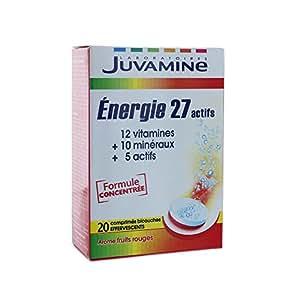 Juvamine Energie 27 Actifs 20 Comprimes