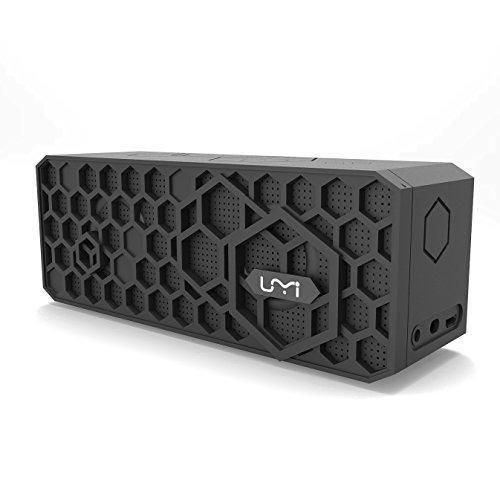Wireless Lautsprecher, UMIDIGI Bluetooth 4.0 Speaker mit 20 Stunden Spielzeit und 10W Dual-Driver, tragbar Lautsprecher mit kraftvoll Bass und ingebautem Mikrofon für iPhone MP3 Samsung Android