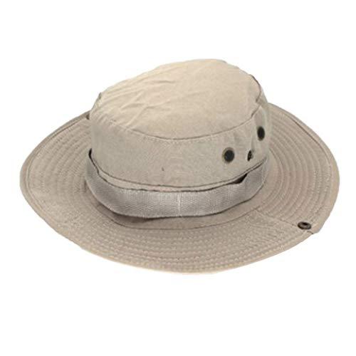 Floridivy Männer Frauen Schlapphut Einzigartige Polyester-Baumwolle Angeln Außen Cap Außen Wide Brim Kopfbedeckung
