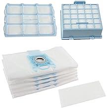 Spares2go bolsas de polvo y Micro Kit de filtro HEPA para Bosch BSG6GL-30BSGL3BSGL4GL-40serie aspiradora (unidades 4bolsas y 3filtros)