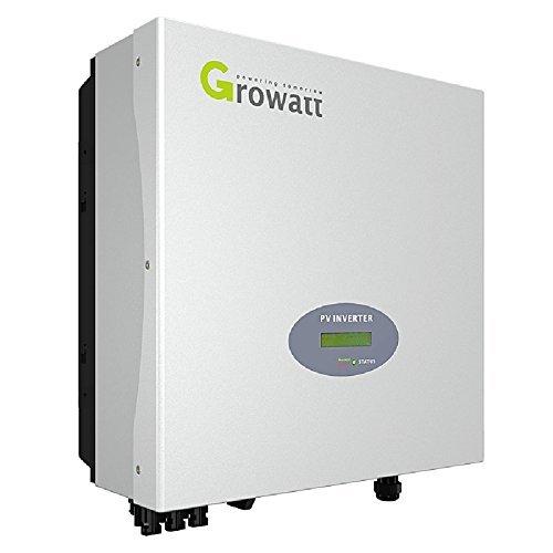 Growatt 3000-s Inverter Solar einphasig Leistung FV Max 3400W Euro-97.3%
