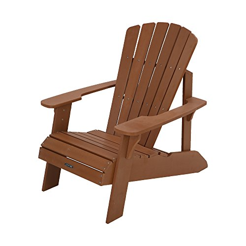 Vida productos 60064Adirondack silla–marrón