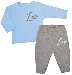 Personalised Fancy Name Baby Luxury Lounge Set Baby Wear Personalised Newborn Baby Sets